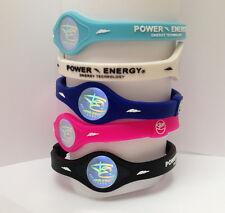 Power Energy Balance Bands Silicone Wristband Sport Hologram Bracelet Wrist Band