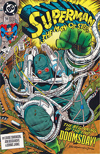 Superman: Man Of Steel #18 - 1st Full App Doomsday! - 1992 (9.0) WH
