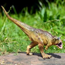 Realistic Carnotaurus Dinosaur Toy Educational Model Birthday Gift For Boy Kids