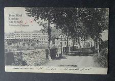 CARTOLINA LAGO DI COMO GRAND HOTEL REGOLEDO VIAGGIATA DEL 1905 SUBALPINA AAA