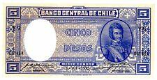 Chile ... P-91c ... 5 Pesos ... 3-7-1935 ... Ch. *UNC*.