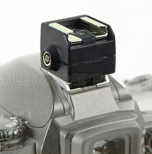 ADATTATORE CONTATTO CALDO HOT SHOE ADAPTER SEAGULL SC2 METZ CANON NIKON AS 15