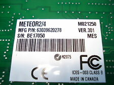 MATROX Meteor-II 750-03 METEOR2/4 M021250 VER.301 PCI CARD, P/N 63039620278