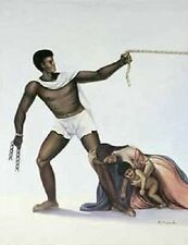 African American Art Print - Infinite Struggle 30 x 24 - Hulis Mavruk - New!