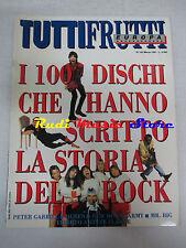 rivista TUTTIFRUTTI 102/1991 Peter Gabriel Queen Oleta Adams Blue Pearl  No cd