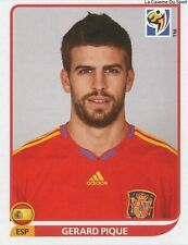 N°566 GERARD PIQUE # ESPANA STICKER PANINI WORLD CUP SOUTH AFRICA 2010