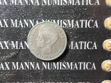 SPAGNA ALFONSO XIII 50 CENT  ARGENTO 1900