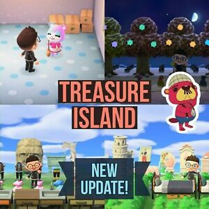 Animal Crossing New Horizons - Treasure Island 3 hour trips (Instant Code Given)
