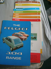 Peugeot 104 range brochure c1976