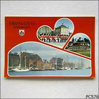 Copenhagen Denmark 3 Views 1989 Postcard (P576)