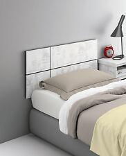 Cabezal o cabecero de 100cm para camas de 90 para colgar en pared