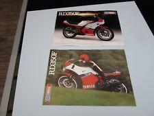 Yamaha RD350F LC RD350 1985 sell brochures