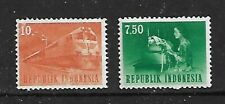 1964 - Republic of Indonesia Transport & Communication 2 Stamps Used SG1004/5