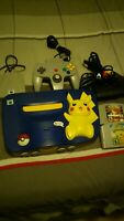 Nintendo 64 Pikachu Version Blue/Yellow Console W/Games Tested Works