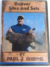DVD-Dobbins-Beaver Sites and Sets,Trapping traps fur BEAVER TRAPPING DVD