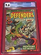 DEFENDERS 31 CGC 9.6 Hulk Dr Strange Valkyrie Nighthawk Gil Kane Sal Buscema 76