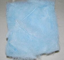 50 Stk. MARABU Federn NEU Flauschig 10-16 cm HELLBLAU Baby groß Feder Basteln
