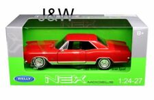Buick Riviera Grand sport, Red, 1965, Welly 1/24 ,Classic  Model Car