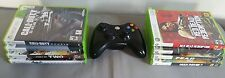 Xbox 360 Games Lot & Wireless Controller Bundle- Excellent Games Must See!