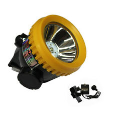 Miners Light LED 3500lm 1w Cordless Power Helmet Safety Head Cap Lamp 18001015