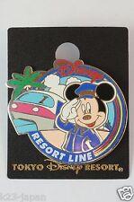 Tokyo Disney Resort Pin Disney Resort Line Monorail Station Attendant Mickey