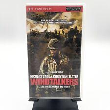 "UMD Video ""WINDTALKERS"" / avec Nicolas Cage, Christian Slater / pour PSP"