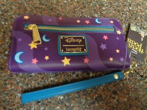 Disney Hocus Pocus Chibi Wallet Loungefly Wristlet Faux Leather NWT Brand Badge