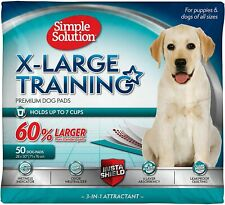 Simple Solution Training Puppy Pads | Extra Large, 6 Layer Dog Pee Pads, Up to