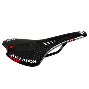 MTB road Bike saddles 3K Carbon Fibre Bicycle racing Hollow Cushion Seat Black