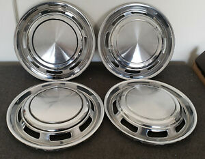 1971-1978 Ford Pinto & Mercury Bobcat 13 Inch Hubcap Set - Used