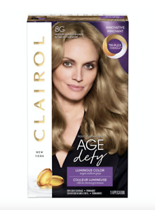 Clairol Age Defy Permanent Hair Color 8G Medium Golden Blonde