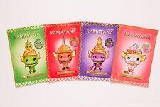 Ramayana Facial Scented Mask Set(Thai orchid,Mixed berry,Ruby Powder,Lemongrass)