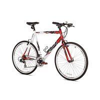 """Giordano RS700 25"""" 700c 21 Speed Shimano Shifter Flat Bar Men's Road Bike 5' 9""""+"""