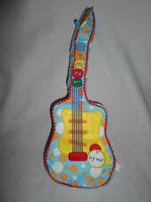 "Manhattan Toy Company Musical Guitar Toddler 16"" Plush Soft Toy Stuffed Animal"