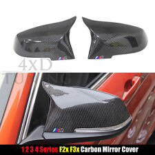 For BMW F20 F21 F87 M2 F22 F23 F30 F32 F33 F36 X1 E84 Carbon Fiber Mirror Covers