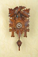 Pendeluhr Pendulum Clock Black Forest Cuckoo MADE in GERMANY 262PQ