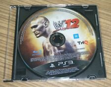 Sony Playstation 3 PS3 Game - WWE W'12 (Disc Only)