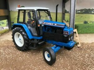 Ford 7740 SLE 2wd tractor Conversion 1:32 scale Farm model TRAKTOR