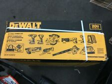 Dewalt 20V Max Cordless 10 Tool Combo Kit 2 Ah Li Ion Battery Charger Tool Bag