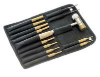 New 13pc Pin Punch Set 10 Brass 2 Steel 1 Hammer Gunsmith Drift Pin Punch Set