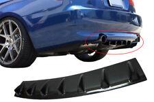Carbono Pintura Difusor para Volvo V70 i Trasero Tapa Delantal Parachoques