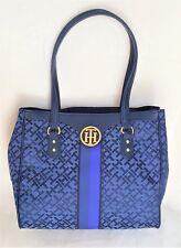 TOMMY HILFIGER Bag Shoulder Handbag EW TOTE II Navy Retails $89