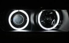 CCFL NEON STANDLICHTRINGE SCHEINWERFER SET BMW E36 3er COMPACT SCHWARZ TÜV-FREI