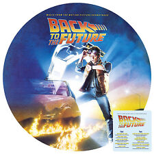 Back to The Future Soundtrack LP Vinyl 33rpm Picture Disc