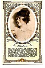 Wizard of Oz Actress Billie Burke-Gloria's Romance Advertising Vintage Postcard