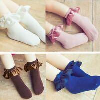 Anti-slip Socks Infant Toddler Newborn Lace Sock For Baby Girls Kids Summer