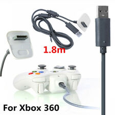 1.8M Fast Charging Charger USB Cables For Xbox 360 Controller Wireless Gamepad