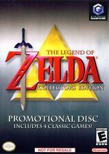 Zelda 4 Game Collection Nintendo Gamecube Complete