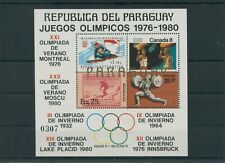 Paraguay Olympic Olympia 1976 Montreal Mi. Block 316 postfrisch ** MNH
