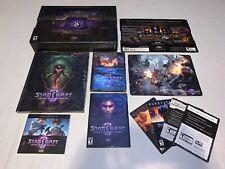 StarCraft II: Heart of the Swarm - Collector's Edition Windows/Mac-BRAND NEW CIB